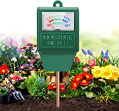 Moisture Meter , Gardening Tool Kit for Plants Care, No Battery Required Suitable for..