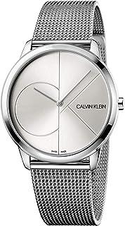 Calvin Klein Men's Quartz Watch, Analog Display and Stainless Steel Strap K3M2112Z
