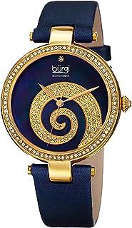 بورغي ساعة للنساء متعدد الالوان بسوار من الساتان - BUR143BU