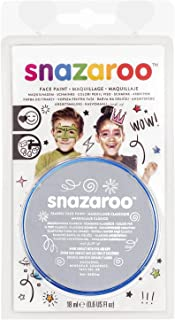 Snazaroo Face Paint 18ml Clam Pack Color - Light Grey