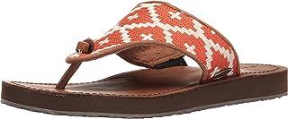 Acorn Women's Artwalk Leather Flip Slippers