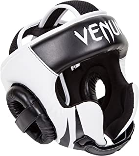 Venum Challenger 2.0 Headgear Hook & Loop Black/White, One Size
