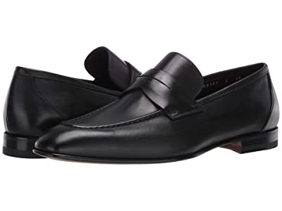Santoni Gannon Loafer (Black) Men