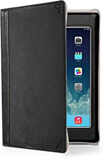 Twelve South 12-1235 BookBook for iPad Mini, Black   Vintage Leather Book case w/Typing Angle and Display Stand for iPad Mini (1st, 2nd, 3rd gen.)