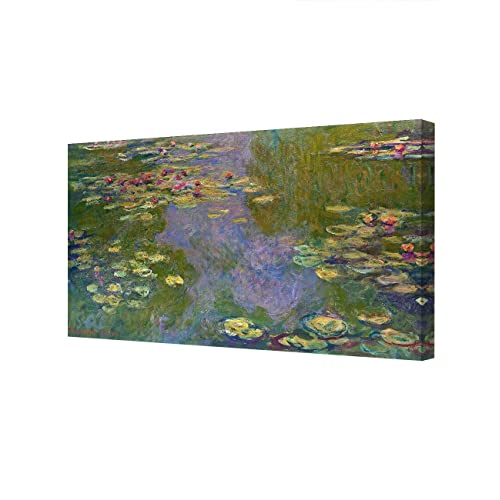Waterlilies #2 by Claude Monet Giclee Fine Art Print Reproduction on Canvas
