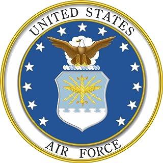 """One ProSticker 1089 4/"""" Navy Veteran In God We Trust Anchor Decal Sticker"""