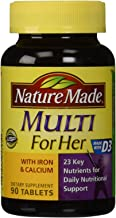 Best nature made for her with iron and calcium Reviews