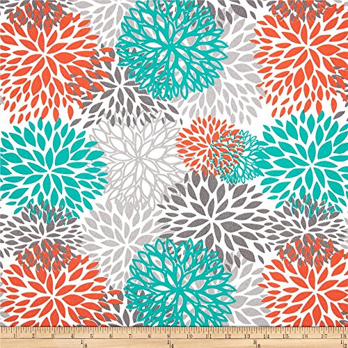 Premier Prints Indoor/Outdoor Blooms, Yard, Pacific