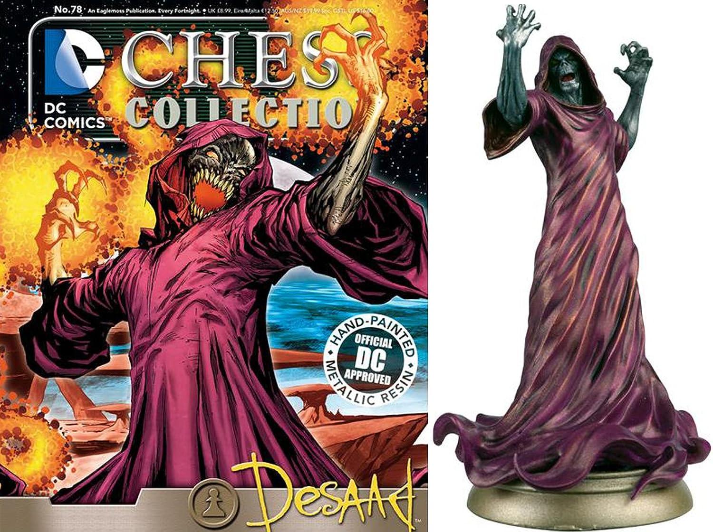 Figuren des Schachspiels Harz DC Comics Chess Collection Nº 78 Desaad B01N5SWEUR Niedriger Preis    Offizielle