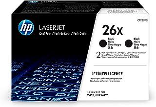 $390 » HP 26X | CF226XD | 2 Toner Cartridges | Black | High Yield