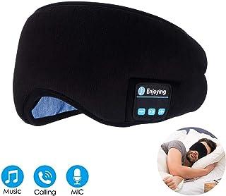 LC-dolida アイマスク 安眠 睡眠 イヤホン付き Bluetooth音楽 ストレス解消 グッズ 遮光 圧迫感なし 洗える 繰り返し 疲労回復 失眠 仮眠 睡眠に最適