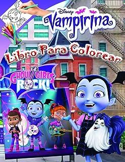 Vampirina Libro Para Colorear: Vampirina Jumbo Libro Para ...