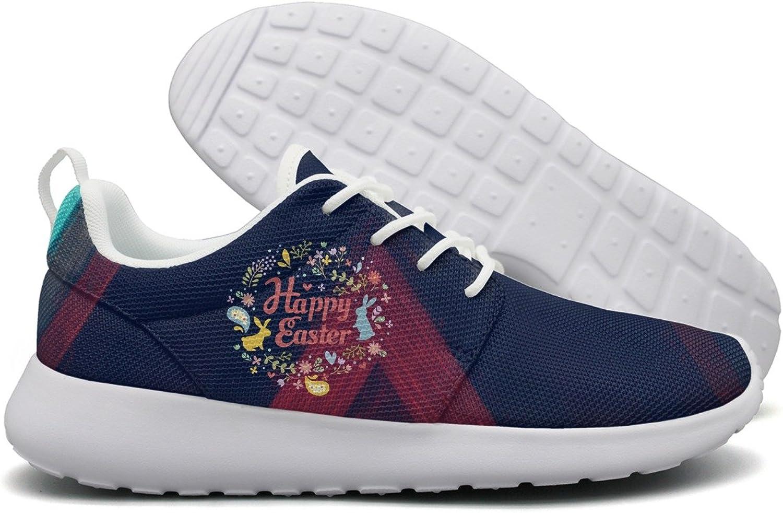Happy Easter Day Women Flex Mesh Lightweight shoes
