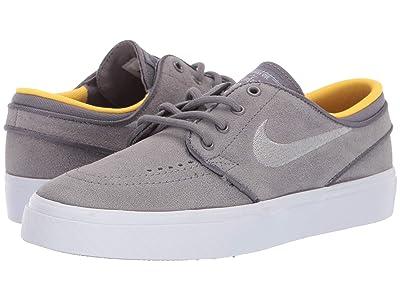Nike SB Kids Stefan Janoski (Big Kid) (Gunsmoke/Wolf Grey/Amarillo) Boys Shoes