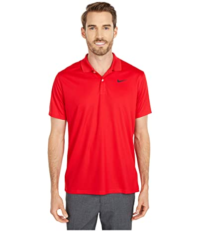 Nike Golf Dry Victory Polo Solid (University Red/Black) Men
