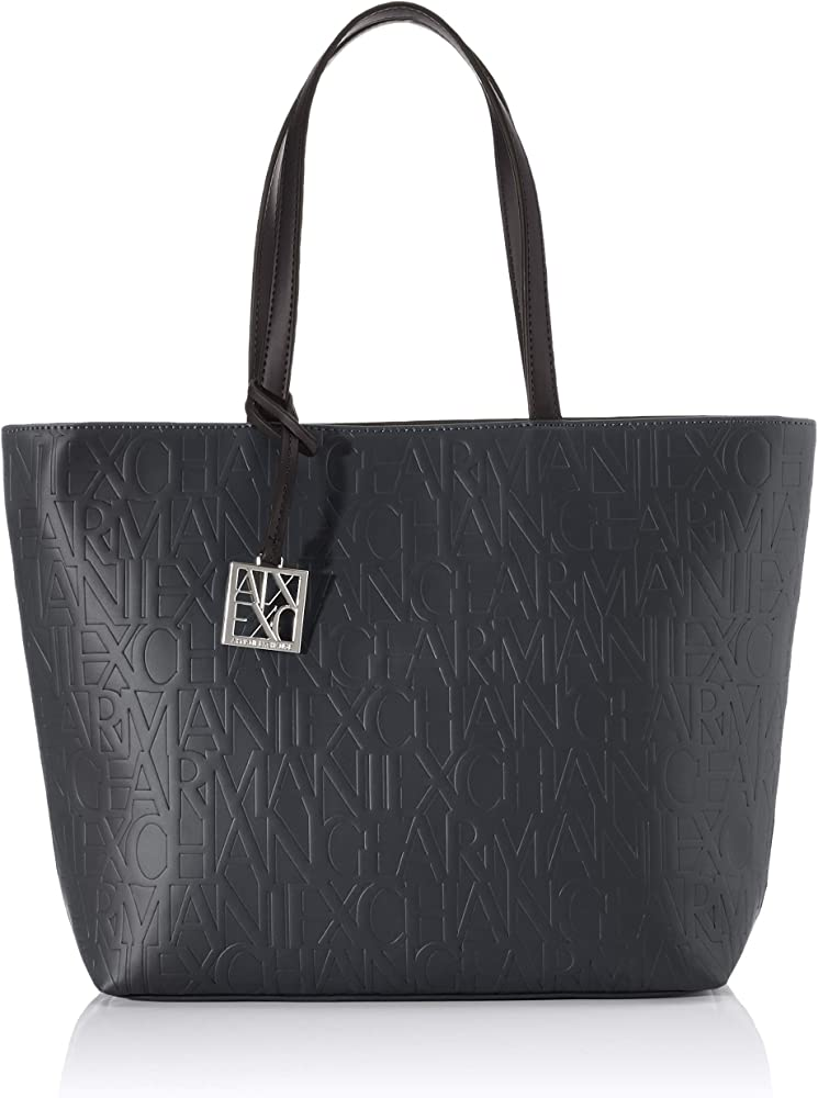 Armani exchange, liz open medium shopping, borsa per  donna 942650CC793