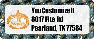 Vintage/Grunge Halloween Return Address Labels (Personalized)