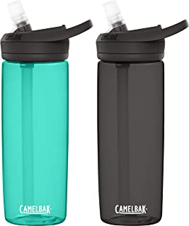 CamelBak Eddy+ BPA Free Water Bottle, 2-Pack
