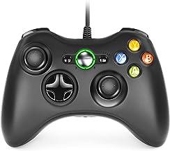 Dhaose Xbox 360 Game Controller, Wired Game Controller Gamepad Controller Cablato USB, Joystick, Joypad Compatibile per Mi...
