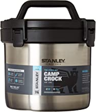 Stanley Adventure Vacuum Crock Food Jar, Stainless Steel, 3 Quart, Stainless Steel
