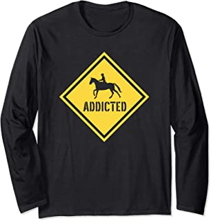 Equestrian Horse Girl. I Love My Horses Riding Gifts Long Sleeve T-Shirt