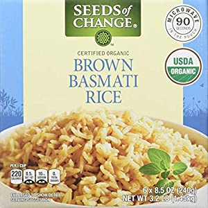 Seeds Of Change Organic Brown Basmati Rice, 51 Ounce (Pack of 6)