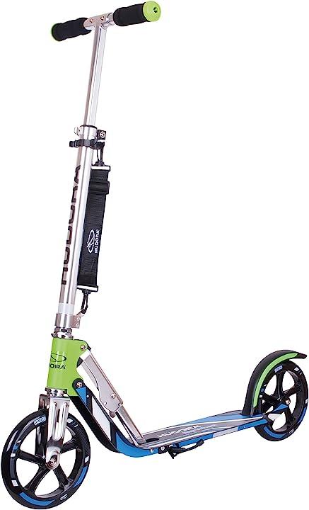 Monopattino pieghevole con tecnologia rx pro hudora bigwheel 205 14750/01