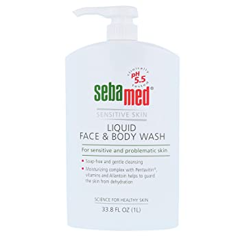 Sebamed Paraben-Free Face and Body Wash