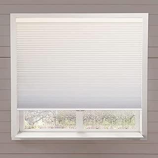 West Coast Blinds Honeycomb Cordless Light Filtering Shade 24 x 54 Nutmeg