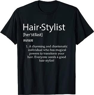 hair stylist apparel accessories