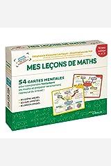 Mes leçons de maths - niveau collège: 54 cartes mentales pour comprendre facilement les maths et préparer sereinement l'épreuve du brevet ! Broché