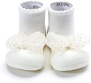 [Attipas] アティパス ベビーシューズ Royal (ロイヤル) 女の子/洗濯機OK・速乾 軽量 裸足に近い ファーストシューズ プレシューズ/水遊びOK 公園 お出かけ 出産祝い 生後5か月から 足の保護