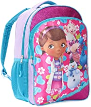 Disney Doc McStuffins Backpack for Girls Kids, 16 Inch Large (School Supplies)