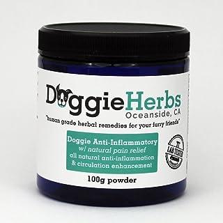 Doggie Herbs Anti-Inflammatory for Dogs w Turmeric (Curcumin)   Human Grade Dog – Canine Health and Pet Pain Relief, Arthr...
