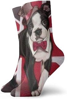 wwoman, Calcetines de vestir estampados para hombre y mujer Perro 43 Calcetines coloridos divertidos divertidos y locos