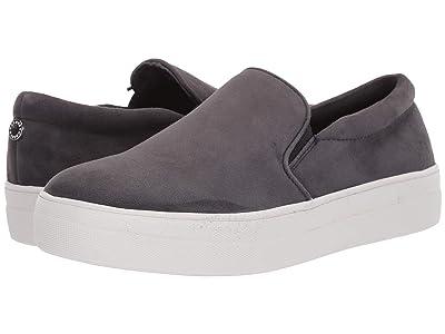 Steve Madden Gills Sneaker (Dark Grey Suede 2) Women