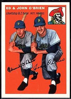 Baseball MLB 1994 Topps Archives 1954 #139 Eddie O`Brien/Johnny O`Brien Pirates