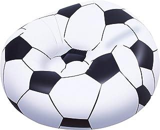 Bestway 45 x 44 x 28-inch Beanless Soccer Ball Chair