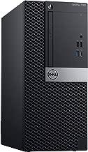 Dell Optiplex 7060 Mini Tower | Intel Quad Core i3-8300 3.7GHz | 4GB DDR4 + 16GB Optane Memory | 240GB SSD+500GB HDD | DVD | Windows 10 Pro (Renewed)