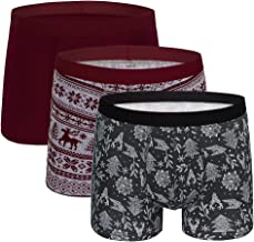 5Mayi Men's Underwear Boxer Briefs Cotton Regular Long Mens Boxer Briefs Underwear Men Pack S M L XL XXL