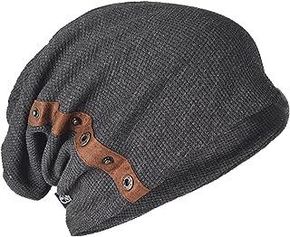 メンズ 大きいサイズニット帽 ニットキャップ コットン ゆるシルエットB020