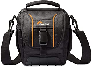 Lowepro Shoulder Bag Protection Practicality SH 120 II. Ready for Your Next Photo Adventure, Delivering Protection and Practicality, Black (LP36864-0WW)