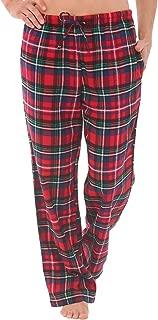 Women's Flannel Pajama Pants, Long Winter Christmas Cotton Pj Bottoms