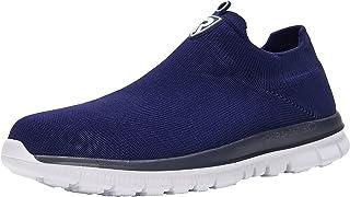 LARNMERN Chaussure de Securité Homme Femmes Légères Chaussures de Travail avec Embout de Protection en Acier