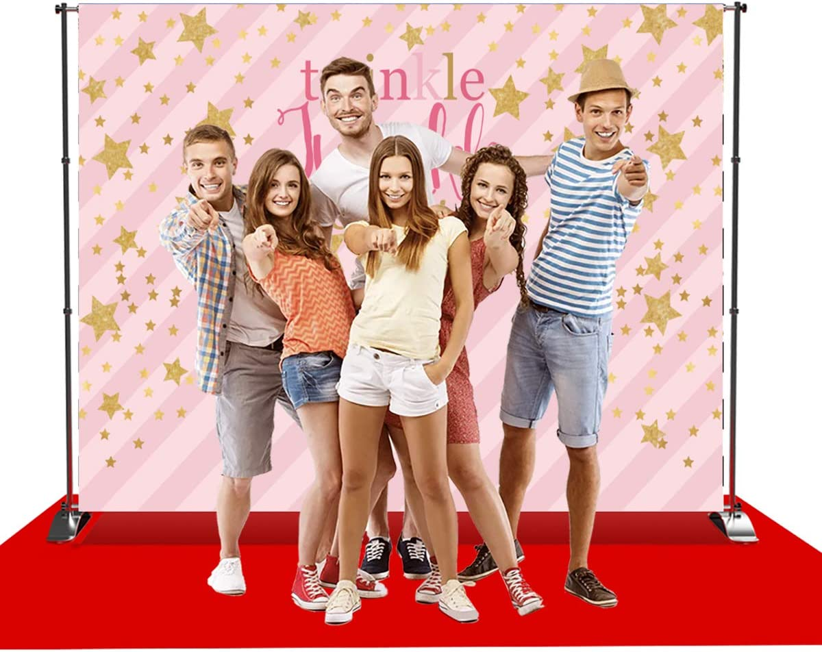 Levoo Cartoon Background Banner Photography Studio Children Baby Birthday Family Party Holiday Celebration Romantic Wedding Photography Backdrop Home Decoration Customizable Words 6x4ft,sxy0123