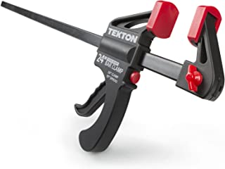 TEKTON 24-Inch x 2-1/2-Inch Ratchet Bar Clamp and 30-Inch Spreader   39184