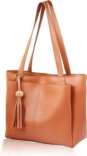 WOMEN MARKS Women's Handbag (NSB000059_Tan)