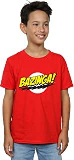 923b473a32 The Big Bang Theory Niños Sheldon Bazinga Camiseta