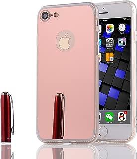 LXHGrowH Funda Espejo Silicona Gel TPU para Apple iPhone 4 / 4S