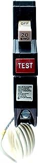 Eaton Corporation CH120GFCS Single Pole Ground Fault Circuit Breaker, 20A